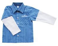 Košilka - modrá kostka