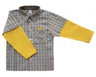 Košilka - žluto-oranžová kostka
